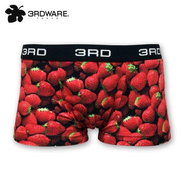 画像1: 10%off!!3RDWARE サードウェア★Strawberry イチゴ柄 メンズ (1)