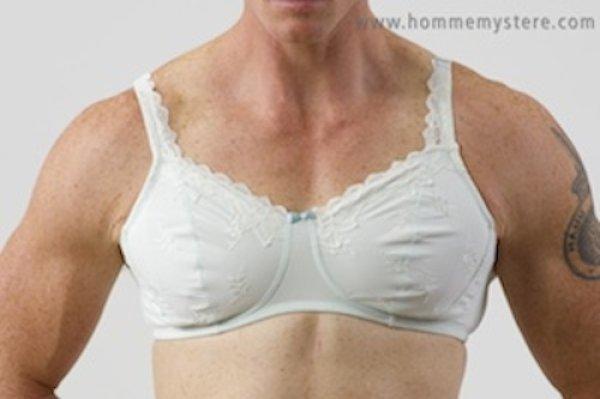 画像1: HommeMystere オムマイステール★TIFFANY bra ティファニーブラ メンズブラジャー (1)
